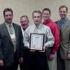 The Oklahoma American Public Works Assocation presented the Project of the Year Award for Structures over $10 Million to the City of Edmond for the Cross Timbers Municipal Complex. Pictured left to right: David Jones, The Orion Group; Mark Rogers, President, Oklahoma American Public Works Association; Bobby Halloran, Timberlake Construction; Clay Coldiron, Edmond Public Works Director; Bryan Timberlake, Timberlake Construction; Brian Thomas, Selser Schaefer Architects and Robert Schaefer, Selser Schaefer Architects. Community Photo By: Sherry Heim Submitted By: Claudia, Edmond