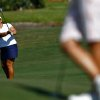 Photo -   Lizette Salas hits toward the green on the 9th hole during round one at the CME Group Titleholders on Thursday Nov. 15, 2012 at Twin Eagles Golf Club in Naples, Fla. (AP Photo/ Naples Daily News, Scott McIntyre)