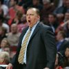 Photo - Chicago Bulls coach Tom Thibodeau shouts during Game 5 of the Bulls' NBA basketball first-round playoff series against the Washington Wizards, Tuesday, April 29, 2014, in Chicago. The Wizards won 75-69, taking the series. (AP Photo/Daily Herald, Steve Lundy) MANDATORY CREDIT  MAGS OUT