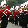 The Yukon High School band marches during the Czech Festival parade in Yukon, Okla., on Saturday, Oct. 6, 2007. By James Plumlee, The Oklahoman.