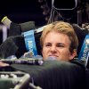 Photo - Mercedes driver Nico Rosberg of Germany sits in his car in the pits ahead of Sunday's Belgian Formula One Grand Prix in Spa-Francorchamps, Belgium, Thursday, Aug. 21, 2014. (AP Photo/Geert Vanden Wijngaert)