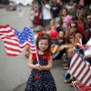Lauryn Lackey, 5, watches the LibertyFest Parade in Edmond, Okla., Monday, July 4, 2011. Photo by Sarah Phipps, The Oklahoman