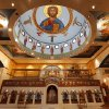Photo - A recent iconography project at St. Elijah Orthodox Christian Church, added colorful iconography to the upper walls near the church's altar area. This iconography joins resplendent iconography inside the church's dome that represents Christ in the heavens. <strong></strong>
