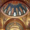 "This 2009 photo provided by Hildreth Meiere Dunn shows the Dome of the twelve apostles in the Cathedral Basilica of St. Louis decorated by the photographer\'s grandmother, Art Deco muralist Hildreth Meiere, in St. Louis, Missouri. While Meiere\'s name has been largely forgotten, her works abound throughout the country. ""The Art Deco Murals of Hildreth Meiere,"