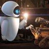 Photo - Eve and WALL-E in the animated