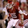 Oklahoma\'s Landry Jones (12) shouts out a play during the college football game between the University of Oklahoma Sooners (OU) and the University of Missouri Tigers (MU) at the Gaylord Family-Memorial Stadium on Saturday, Sept. 24, 2011, in Norman, Okla. Photo by Bryan Terry, The Oklahoman