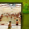 Photo - In this Sept. 11, 2013 photo, Iranian men enjoy a hot mineral pool, in the northwestern town of Sarein, Iran. Spring-fed mineral baths on the slopes of Iran's Sabalan mountain draw patients seeking traditional hydrotherapy and tourists seeking a relaxing getaway. (AP Photo/Ebrahim Noroozi)