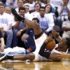 Oklahoma City\'s Reggie Jackson (15) calls for timeout after gaining control of a loose ball during Game 5 in the first round of the NBA playoffs between the Oklahoma City Thunder and the Memphis Grizzlies at Chesapeake Energy Arena in Oklahoma City, Tuesday, April 29, 2014. Photo by Sarah Phipps, The Oklahoman