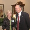 Pam Harkey with Congressman Ernest Istook\'s office is pictured with Bill Belanger, senior vice president of Touchmark Living Centers Inc., based in Oregon. The two were celebrating the opening of the Grandview apartments in north Edmond, part of the $30 million Touchmark at Coffee Creek retirement community. Community Photo By: Richard Hail Submitted By: Carol, Edmond