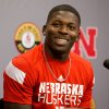 Photo - University of Nebraska NCAA college football quarterback Tommy Armstrong Jr. talks during a press conference Monday Aug. 25, 2014, in Lincoln Neb.  Nebraska opens its football season Saturday against Florida Atlantic.  (AP Photo/The Omaha World-Herald/Jim Burnett) MAGS OUT TV OUT