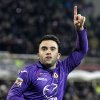 Photo - Fiorentina's Giuseppe Rossi celebrates after scoring during a Serie A soccer match between Fiorentina and Verona at the Artemio Franchi stadium in Florence, Italy, Monday, Dec. 2,  2013. (AP Photo/Fabrizio Giovannozzi)