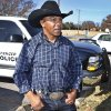 Former bull rider Danell Tipton is a police officer in Spencer. Photo By David McDaniel, The Oklahoman