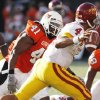 Orie Lemon and his defensive pals ruled Saturday\'s scrimmage.