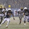 Photo - Navy quarterback Keenan Reynolds (19) runs in a touchdown during the first half of an NCAA college football game against Army, Saturday, Dec. 14, 2013, in Philadelphia. (AP Photo/Matt Slocum)
