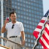"Photo - This film image released by Paramount Pictures shows Leonardo DiCaprio as Jordan Belfort in a scene from ""The Wolf of Wall Street."" (AP Photo/Paramount Pictures, Mary Cybulski)"