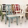 Photo - Old World:  Pottery Barn Queen Anne Chairs