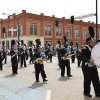 The Guthrie High School Band marches in the 89ers Day Parade in Guthrie, OK, Saturday, April 20, 2013, By Paul Hellstern, The Oklahoman