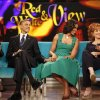 """Photo -   President Barack Obama and first lady Michelle Obama appear on the ABC Television show """"The View"""" in New York, Monday, Sept. 24, 2012, From left are, Barbara Walters, president and first lady, Joy Behar, and Sherri Shepherd. (AP Photo/Pablo Martinez Monsivais)"""