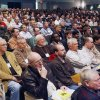 The auditorium at McGuinness High School is packed as men attend the Oklahoma Catholic Men\'s Conference in Oklahoma City, OK, Saturday, Feb. 28, 2009. BY PAUL HELLSTERN, THE OKLAHOMAN
