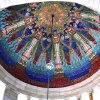 "This 2009 photo provided by Hildreth Meiere Dunn shows the Nebraska State Capitol Rotunda Dome in Lincoln decorated by the photographer\'s grandmother, Art Deco muralist Hildreth Meiere. While Meiere\'s name has been largely forgotten, her works abound throughout the country. ""The Art Deco Murals of Hildreth Meiere,"