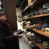 Charles Godyear looks over the new hats at Goorins Hat Store in Uptown, Minneapolis, December 20, 2012. The new old-school men\'s hat shop has opened in Uptown Minneapolis, just as the trend has hit its stride. The heritage menswear movement has pushed hats back on to guys\' heads. Baseball caps have given way to Fedoras, Gatsbys and Bowlers. (Tom Wallace/Minneapolis Star Tribune/MCT)