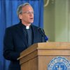 Rev. John I. Jenkins, C.S.C. the University\'s President talks about the academic scandal Friday Aug. 15, 2014 in South Bend, Ind. Notre Dame says it is investigating