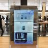 A screen displays advertisement of Samsung Electronics\' Galaxy S III at the showroom of the company headquarters in Seoul, South Korea, Friday, Jan. 25, 2013. Samsung Electronics Co. said quarterly profit soared 76 percent, boosted by the popularity of its Galaxy smartphones, which outsold the iPhone for a fourth straight quarter. But the company said Friday it expects earnings to decline during the current quarter because of seasonally low demand for consumer electronics. (AP Photo/Ahn Young-joon)