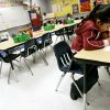 Photo - MAPS FOR KIDS, CLASSROOM, INTERIOR, STUDENT: Samantha Gonzalez, a kindergarten student, works during class at Wheeler Elementary School in Oklahoma City, Thursday, Nov. 9, 2006. By John Clanton, The Oklahoman ORG XMIT: KOD