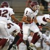 Capitol Hill\'s Denny Do runs the ball against Oklahoma Centennial during a high school football game at Star Spencer in Oklahoma City, Thursday, September 1, 2011. Photo by Bryan Terry, The Oklahoman ORG XMIT: KOD