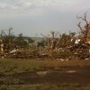 Canton Tornado aftermath Canadian Campground.