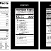 Photo - This handout image provide by the Food and Drug Administration (FDA) shows, from left, a current food nutrition label, a proposed label and an alternate label. Revamped food nutrition labels would change serving sizes for popular items like ice cream and sodas, make calories listing more prominent, and, for the first time, list any sugars that were added by the manufacturer. The overhaul of the omnipresent 20 year-old label comes as science has shifted. (AP Photo/FDA)