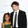 This Jan. 8, 2013 photo released by Starpix shows actress Quvenzhane Wallis, left, and director Benh Zeitlin at the National Board of Review awards gala in New York. Wallis was nominated for an Academy Award on Thursday, Jan. 10, 2013, for best actress for the film,