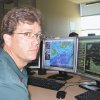 Photo - Scott Curl, a meteorologist at the National Weather Service's Norman forecast office, recently talked about technology regarding the May 3, 1999,  tornadoes. Photo by bryan painter, the oklahoman