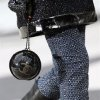 A model wears a creation by German fashion designer Karl Lagerfeld for Chanel\'s Fall/Winter 2013-2014 ready to wear collection, in Paris, Tuesday, March, 5, 2013. (AP Photo/Thibault Camus)
