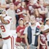 OU's Juaquin Iglesias, left, is Mel Kiper's top-ranked senior wide receiver. PHOTO BY BRYAN TERRY, THE OKLAHOMAN
