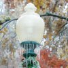 WINTER / COLD / WEATHER / ICE STORM: A light pole is covered with ice in Heritage Hills in Oklahoma City , Okla. Dec. 10, 2007. BY STEVE GOOCH, THE OKLAHOMA. ORG XMIT: KOD