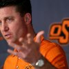 Mike Gundy will do the rounds at ESPN\'s Bristol, Conn., campus. Photo by By John Clanton, The Oklahoman