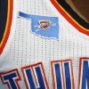 A patch is seen on the Thunder uniform during an NBA basketball game between the Oklahoma City Thunder and the Phoenix Suns at Chesapeake Energy Arena in Oklahoma City, Sunday, Nov. 3, 2013. Oklahoma City won 103-96. Photo by Bryan Terry, The Oklahoman