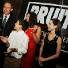 Republican candidate for Attorney General Scott Pruitt celebrates with his wife Marlyn, son Cade, 11, and daughter McKenna, 15, after winning the primary vote, taken at his watch party at the Cedar Ridge Country Club in Tulsa, Okla., on July 27,2010. JAMES GIBBARD/Tulsa World
