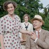 Photo - FILE - This undated publicity film image released by Focus Features shows, from left, Olivia Williams as Eleanor Roosevelt, Laura Linney as Daisy, and Bill Murray as Franklin D. Roosevelt in a scene from