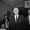 FILE - In this May 21, 1961 file photo, John Seigenthaler, the Kennedy administration\'s chief negotiator with the governor of Alabama during the 1961 Freedom Rides, walks through the airport in Montgemery, Ala. A day earlier, he was attacked and knocked unconscious by a mob of Klansmen in Montgomery, Ala., as tried to aid a young protester who was being pursued by the rioters. Seigenthaler, the journalist who edited The Tennessean newspaper, helped shape USA Today and worked for civil rights during the Kennedy administration, died Friday, July 11, 2014. He was 86. (AP Photo)