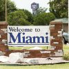 Photo - A sign welcoming visitors to Miami, Okla. and not Florida Wednesday June 20, 2012. Gary Crow, for the Oklahoman
