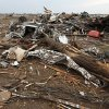Debris east of Western and north of SW 149th after a tornado struck south Oklahoma City and Moore, Okla., Monday, May 20, 2013. Photo by Nate Billings, The Oklahoman