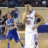 Weleetka\'s Jeremiah Winney\'s reacts as Glencoe\'s Jake Corbin celebrates following the Class A boys state championship between Glencoe and Weleetka at the State Fair Arena., Saturday, March 2, 2013. Photo by Sarah Phipps, The Oklahoman