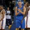Dallas\' Dirk Nowitzki has played well against the Thunder. PHOTO BY BRYAN TERRY, THE OKLAHOMAN