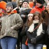OSU fans react after the Cowboys lost the Bedlam college football game between the Oklahoma State University Cowboys (OSU) and the University of Oklahoma Sooners (OU) at Boone Pickens Stadium in Stillwater, Okla., Saturday, Dec. 7, 2013. OU won, 33-24. Photo by Nate Billings, The Oklahoman