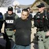 Oklahoma Bureau of Narcotics agents detain William Ratcliff at a Yukon home during a drug raid Friday, March 6, 2009, after a four month undercover drug sting in Canadian County. BY PAUL B. SOUTHERLAND, THE OKLAHOMAN