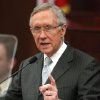 Photo - U.S. Senate Majority Leader Harry Reid addresses a joint session of the Nevada Legislature, in Carson City, Nev., on Wednesday, Feb. 20, 2013. (AP Photo/Cathleen Allison)