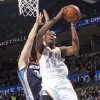Oklahoma City\'s Kevin Durant (35) shoots the ball over Memphis\' Marc Gasol (33) during the NBA basketball game between the Oklahoma City Thunder and the Memphis Grizzlies at Chesapeake Energy Arena on Wednesday, Nov. 14, 2012, in Oklahoma City, Okla. Photo by Chris Landsberger, The Oklahoman