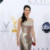 Photo - Lucy Liu arrives at the 64th Primetime Emmy Awards at the Nokia Theatre on Sunday, Sept. 23, 2012, in Los Angeles. (Photo by Matt Sayles/Invision/AP)